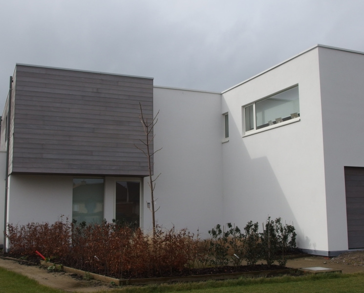 Schilderen gevel villa ranst schilderwerken martledeco - Oude huis gevel ...